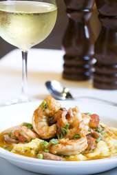 SNOB shrimp and grits