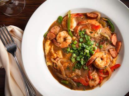 Poogan's Porch shrimp and grits