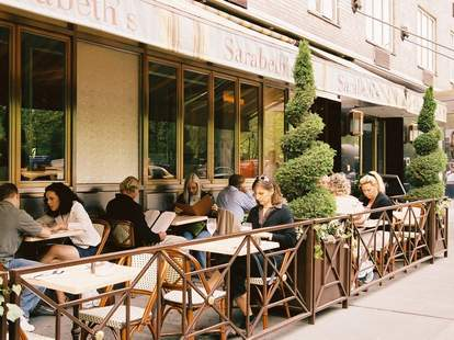 Sarabeth's outdoor seating