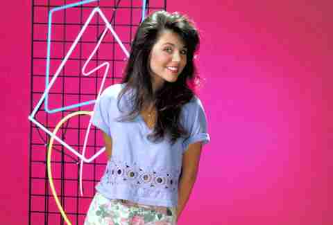 Kelly Kapowski from Saved By The Bell