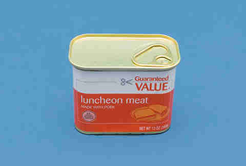 lunchean meat canned