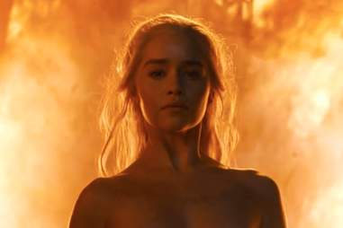 Daenerys fire game of thrones