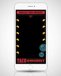 taco knockout filter