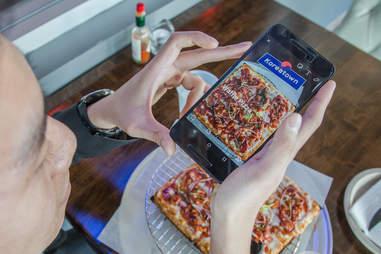 Instagram Korean Waffle Pizza