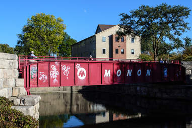 Monon Trail bridge