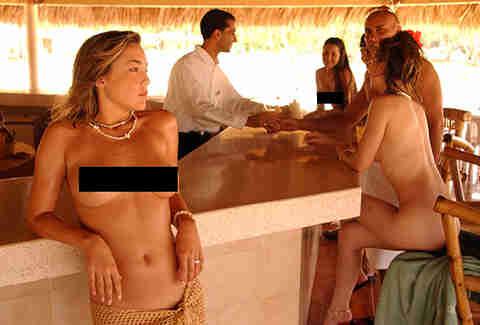 Oa nude beach with my wife