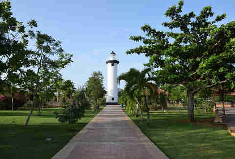 Rincon Lighthouse and Beach Puerto Rico