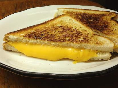 grilled cheese at Square Diner