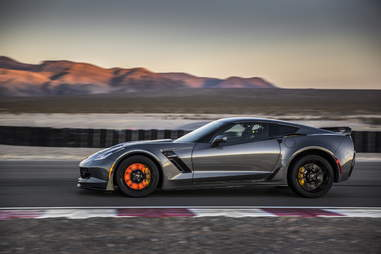 The Corvette Z06 is fast, but not challenging