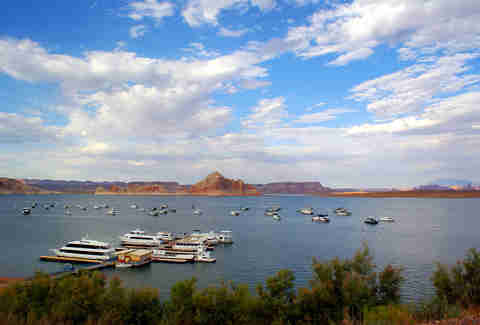 Lake Powell, Utah houseboats