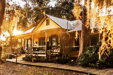 Lodge on Little Simmons Island, GA