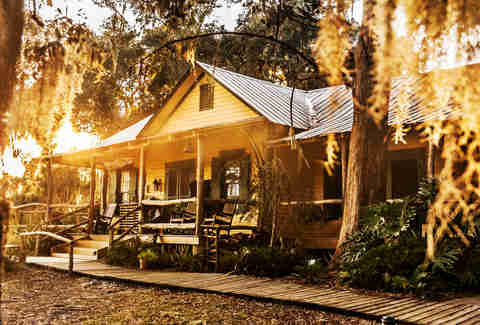 Lodge on Little Simmons Island, GA