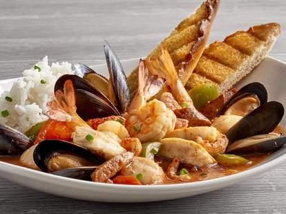 seafood at Landry's
