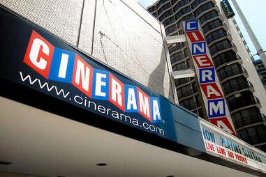cinerama sign