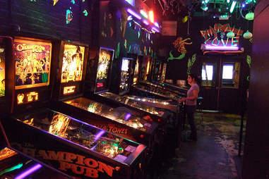 Shorty's pinball machines