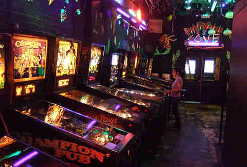 Shorty's pinball machines
