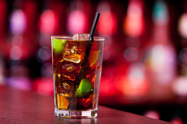 rum and coke cuba libre