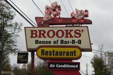 Brooks sign