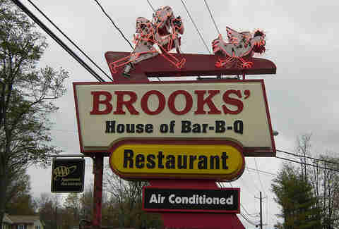 Brooks sign