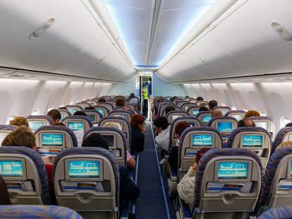flight with passengers