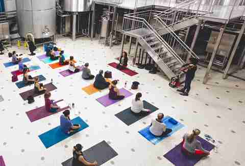 Allagash Brewing Company Yoga