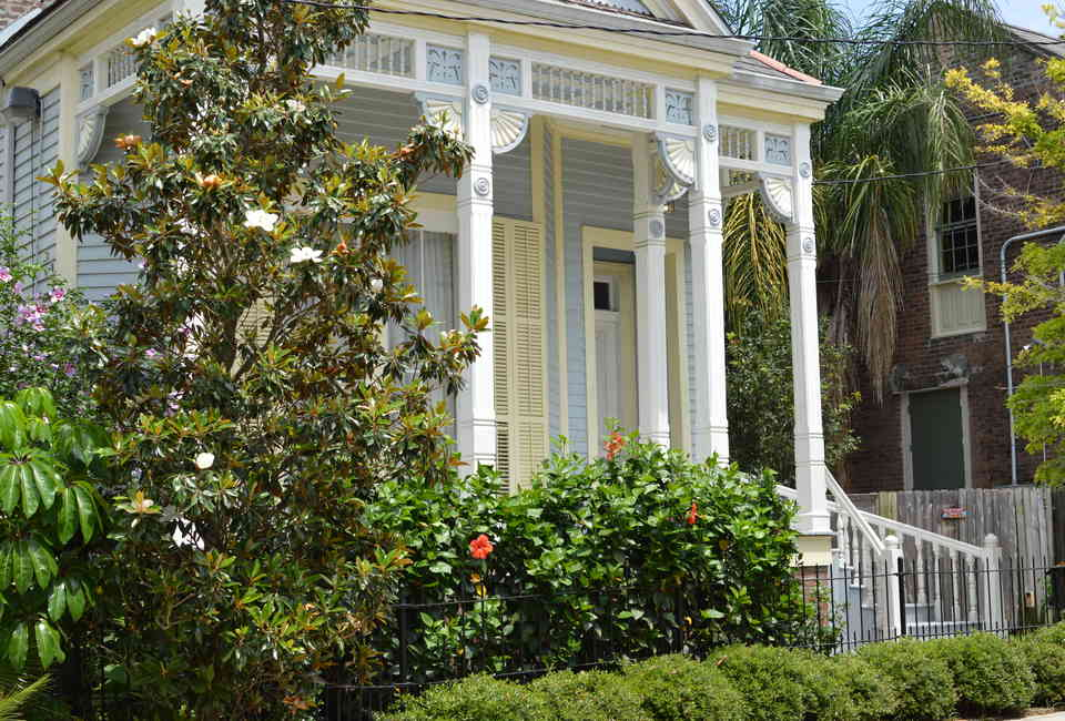 Most Beautiful Houses in New Orleans LA Neighborhoods