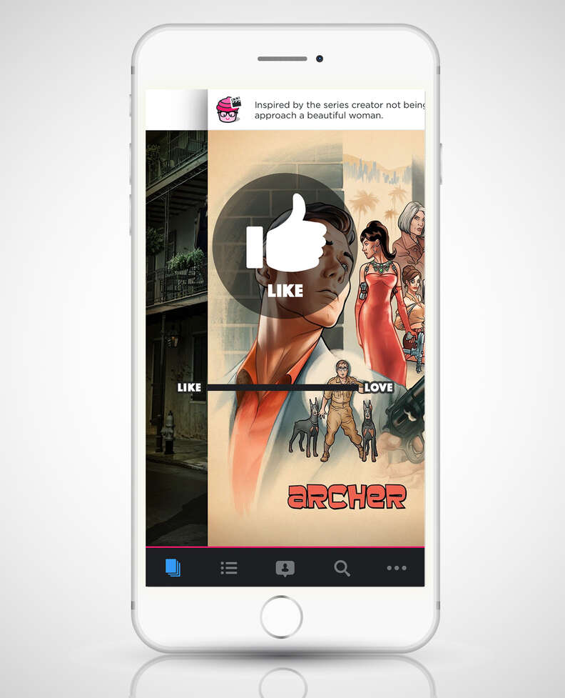 screenshot of mightytv app on iphone 6