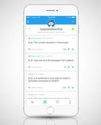screenshot of Reddit mobile app on iphone 6