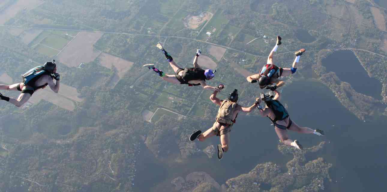 Inside the Weird, Wonderful World of Naked Skydiving