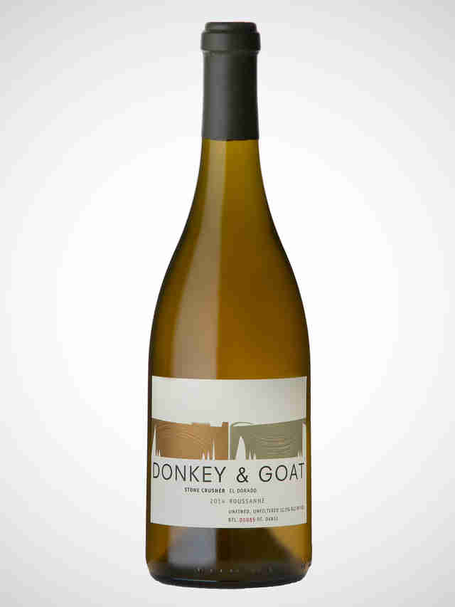 Donkey and Goat Stone Crusher Rousanne wine