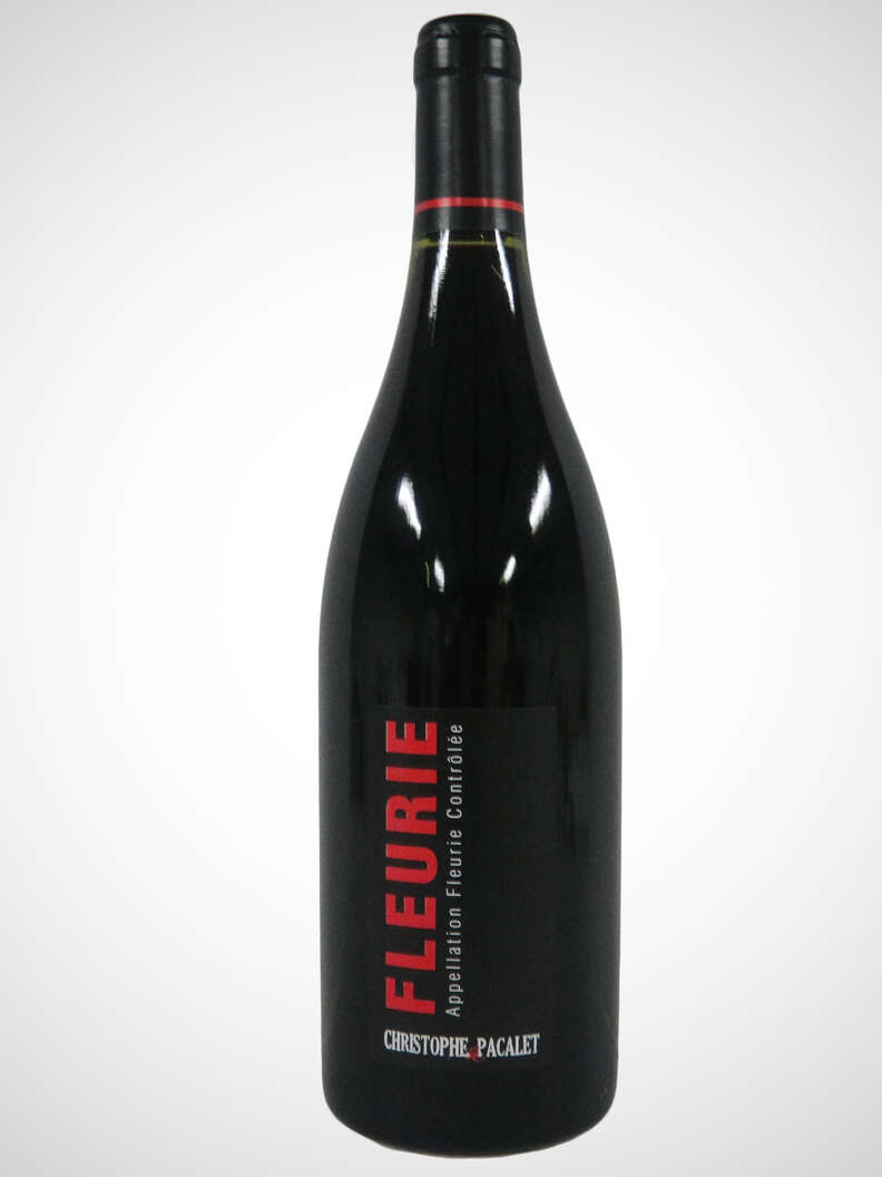 Chistopher Pacalet Fleurie wine
