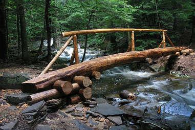 catskills hiking bridge