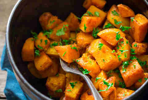 turmeric roasted butternut squash