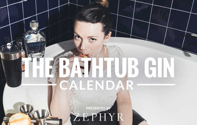 Introducing: The World's First Bathtub Gin Calendar