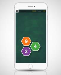screenshot of peak app in iphone 6