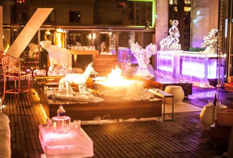 vertigo sky lounge chicago ice bar