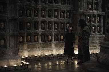 arya with faceless man - game of thrones recap
