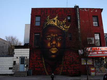 notorious b.i.g. mural