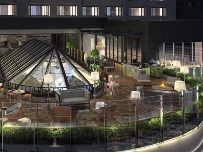 Raised Urban Rooftop