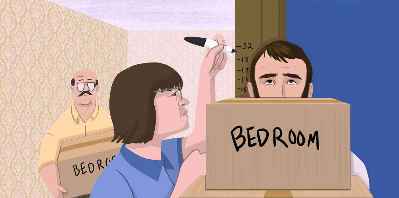 How to Survive the Agony of Moving in With Your Parents After a Breakup
