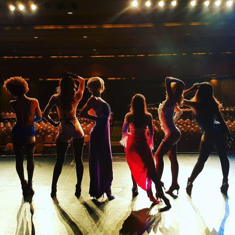 The Lalas, Burlesque!