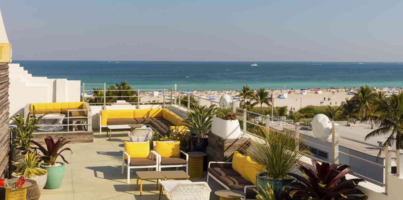 Miami\'s Best Rooftop Bars Are Worth Braving the Summer Heat