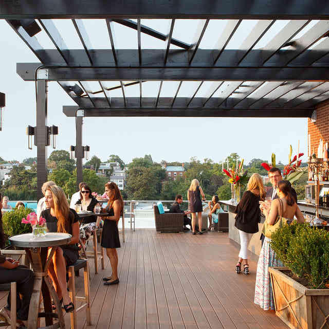 Celebrate Outdoor Drinking Season at DC\'s Best Rooftop Bars