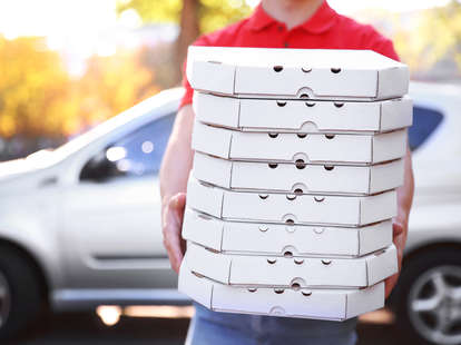 pizza delivery guy