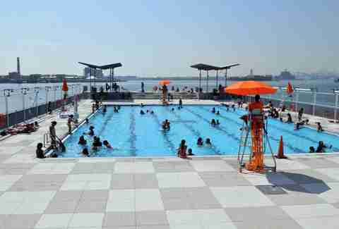 Best Swimming Pools In Nyc Public Private Rooftop