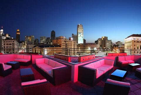 3Fifty Terrace rooftop