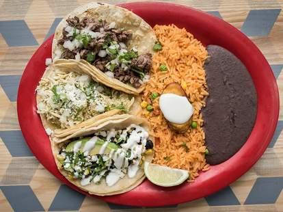 tacos at BelAir Cantina