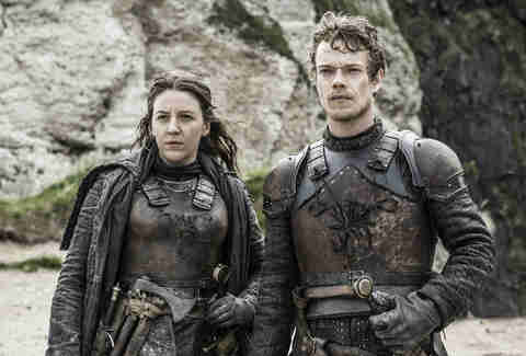 yara greyjoy theon greyjoy game of thrones