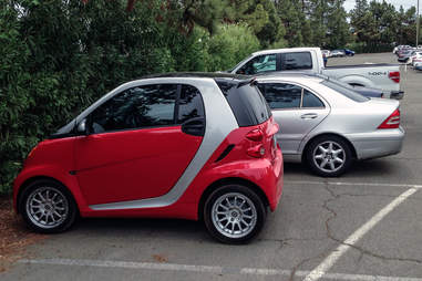 The Tiny Car Parker