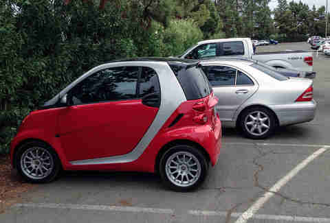 The Tiny Car Parker